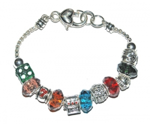 "Ambrosia Theme Charm Bracelet ""Come to the Casino"""
