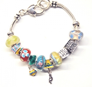 "Ambrosia Theme Charm Bracelet ""Grand Canyon"""