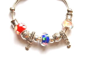 "Ambrosia Theme Charm Bracelet ""Best Friends"""