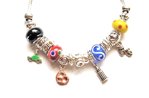 "Ambrosia Theme Charm Bracelet ""New York City"""
