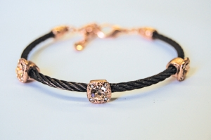 Bronze Triple Round Cable Bracelet