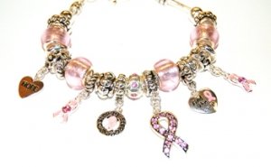Ambrosia Breast Cancer Awareness Bracelet