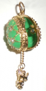 Angel Charm Egg Pendant / Locket 2