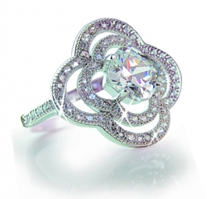 Diamondess SS PP, Double Clover CZ Ring