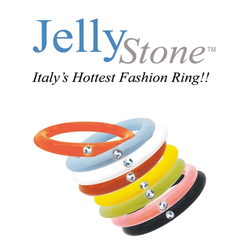 JellyStone Ring Ass't. 448 Pcs